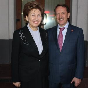 Галина Карелова и Алексей Гордеев.