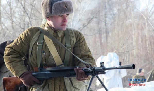 Реконструкция боев за Воронеж.
