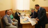 Воронежцы пришли на прием к мэру Александру Гусеву.