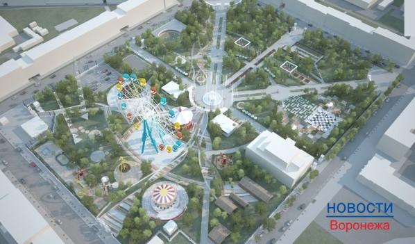 Проект обновления парка «Орлёнок».