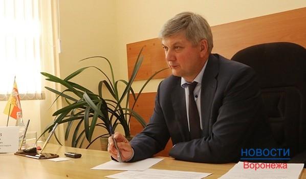 Мэр Александр Гусев.