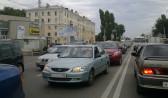 Пробки сковали движение в Воронеже.