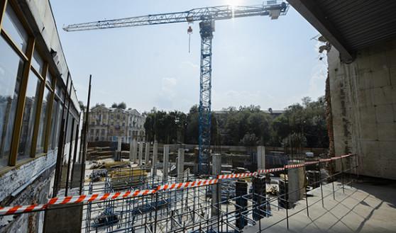 Работы по реконструкции СК «Энергия» продолжаются.