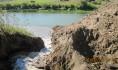От озера прорыли канал к реке Дон.