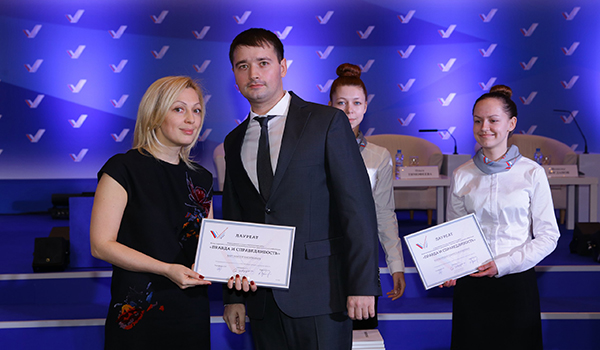 Виктор Барт и депутат Госдумы VI и VII созывов Ольга Тимофеева.