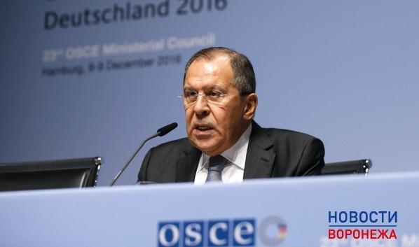 Министр иностранных дел Сергей Лавров.