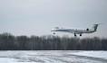 Самолет сел в Воронеже.