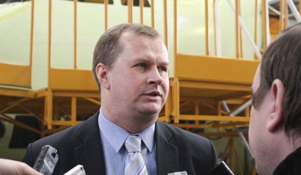 Директор программы Ил-112 компании «Ил» Дмитрий Савельев.