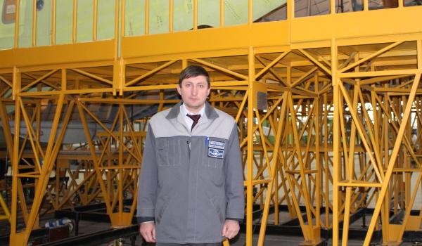 Начальник агрегатно-сборочного производства ВАСО Юрий Шестаков.