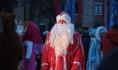 В новогоднюю ночь в 5-градусный мороз воронежцев на площади Ленина ждет Дед Мороз.