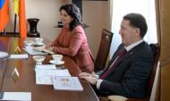 Оксана Соколова с Алексеем Гордеевым.