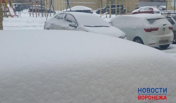 В Воронеже будет идти сильный мокрый снег.