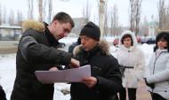 Совещание по вопросу благоустройства территории бывшего мини-рынка «Остужевский».