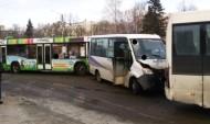 ДТП с пассажирскими автобусами.