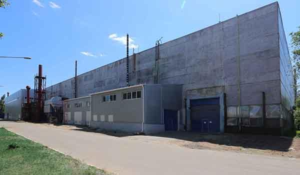 Внешний вид завода.