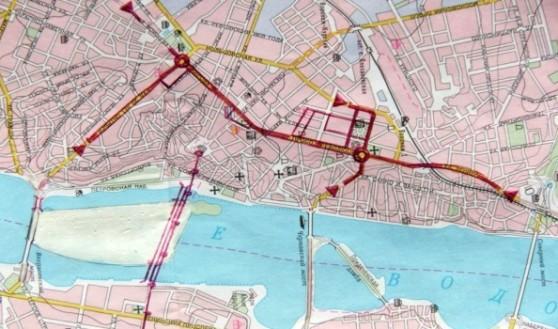 План тоннеля в Воронеже.