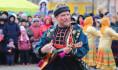 В Воронеже праздновали Масленицу.