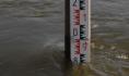 Вода на уровне дорожного полотна.