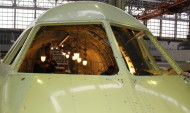 Сборка самолета Ил-112В.