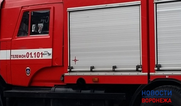 На месте аварии работало одно пожарное отделение.