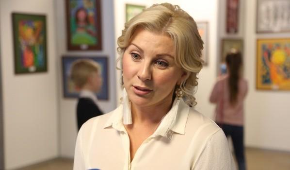 Директор фонда УГМК «Дети России» Юлия Нутенко.