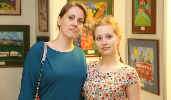 Екатерина Маврова с мамой.