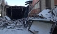 Взрыв и пожар разрушили здание.