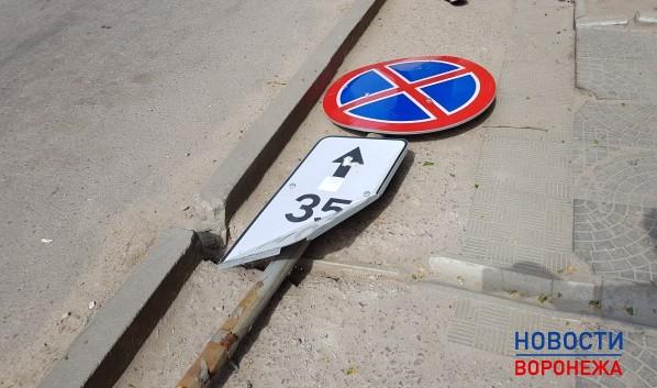 Под Воронежем мужчина попал под следствие закражу уличных знаков