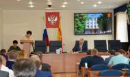 Выступление Людмилы Подшиваловой.