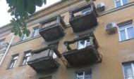 Балконы на улице Фридриха Энгельса, 18.
