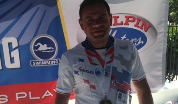 Воронежский полицейский уже завоевал бронзовую медаль.