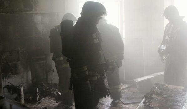 Пожар в больнице.