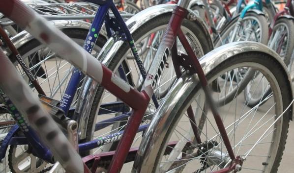 Поймали серийных похитителей велосипедов.
