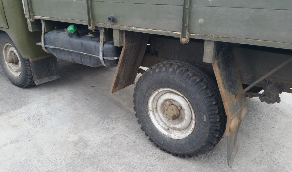 Угнали «ГАЗ-53».