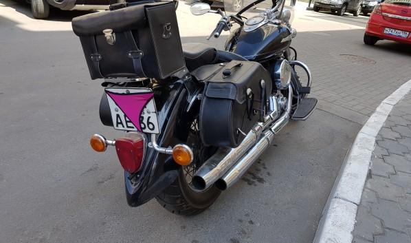 Мотоцикл.