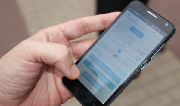 Воронежец отобрал у пенсионера мобильный телефон.