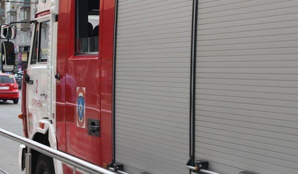 На месте ЧП работали сразу 6 пожарных отделений.