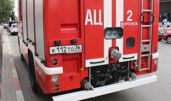 Пожарные потушили возгорание.