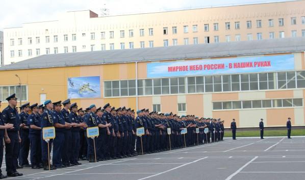 ЧП произошло в здании академии на улице Краснознаменной.