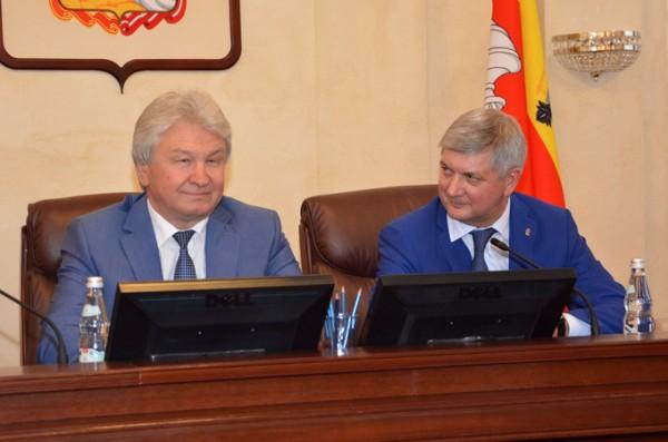 Владимир Ходырев, Александр Гусев.