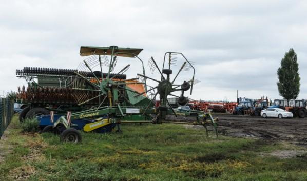 В регионе идет сбор урожая.
