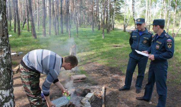Рейды по соблюдению пожароопасного режима.