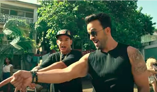 Клип Луиса Фонси на песню «Despacito».