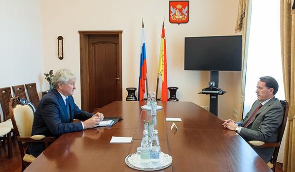 Алексей Гордеев и Владимир Ходырев.