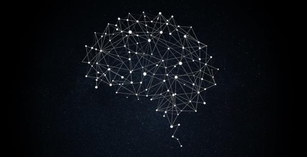 Схематическое изображение нейронной сети.