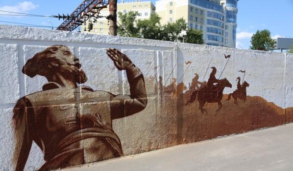 ВВоронеже вандалы испортили граффити-работы