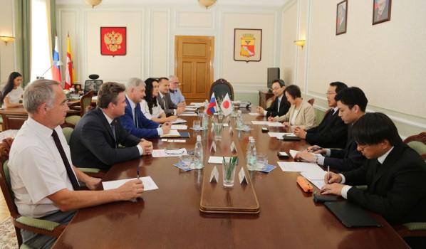 Встреча с делегацией из Японии.