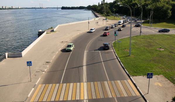 В Воронеже отремонтировали дороги.