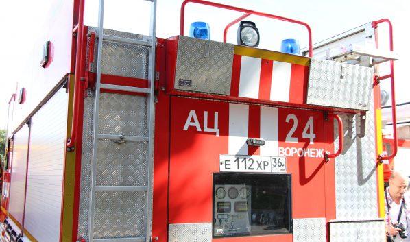 Пожар в центре города тушили 3 пожарных расчета.