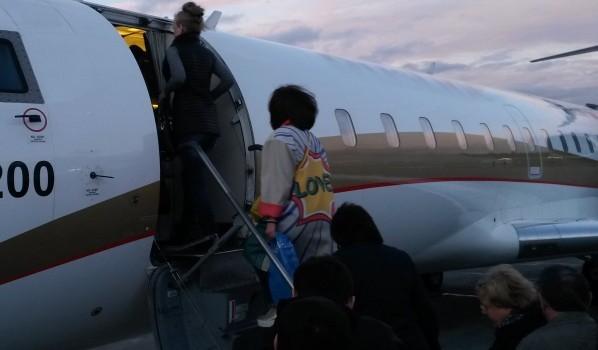 Пассажир покурил на борту во время полета.